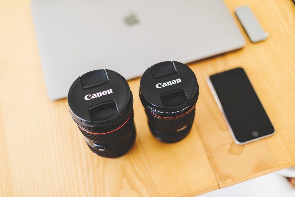 レンズとiPhone