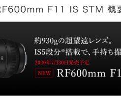 EF 600mm F11 IS STM