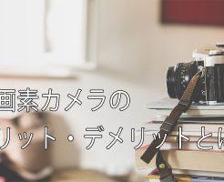 高画素カメラヘッダー