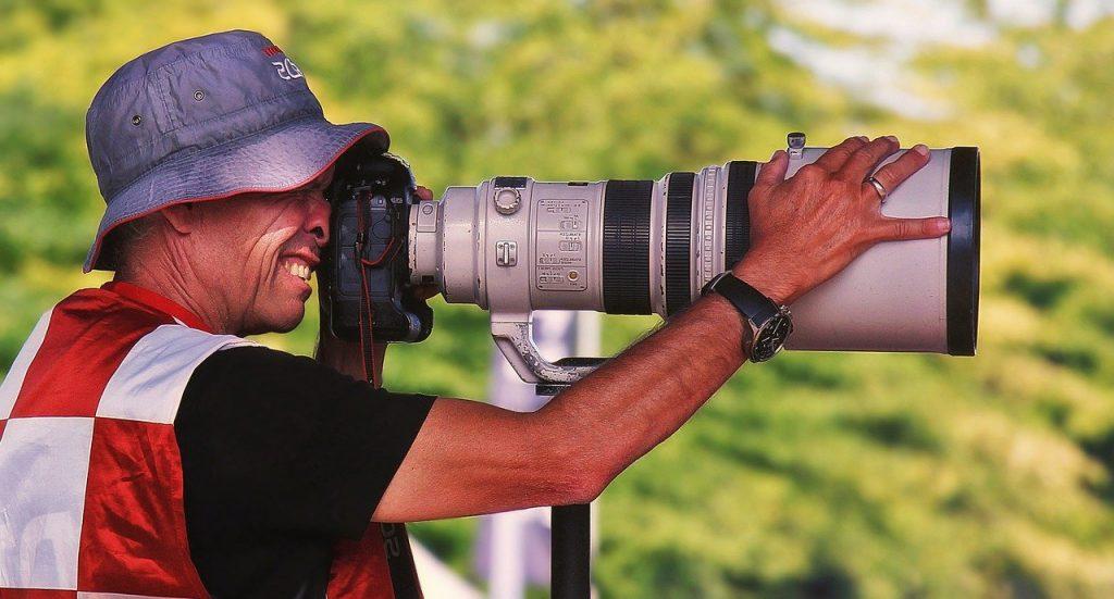 超望遠単焦点レンズ