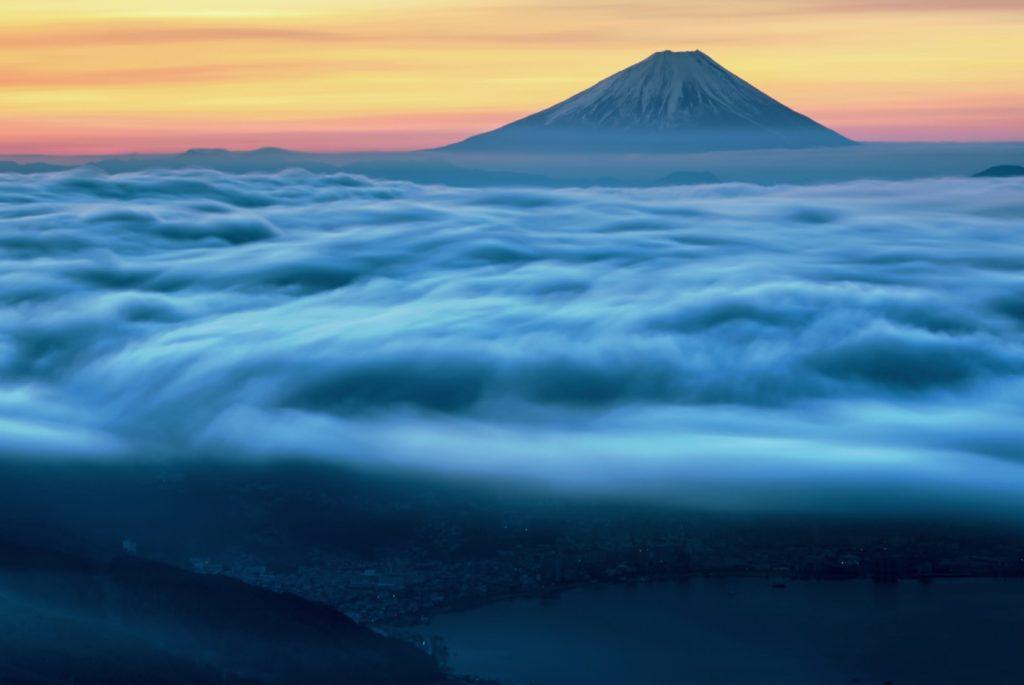 高ボッチ雲海